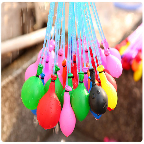 Barevné magické balonky 111 kusů na vodní bomby