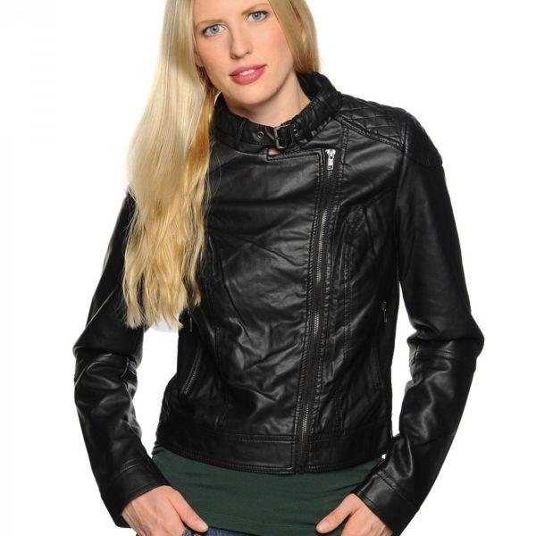 Dámská bunda z PU kůže Rut & Circle Jeanette