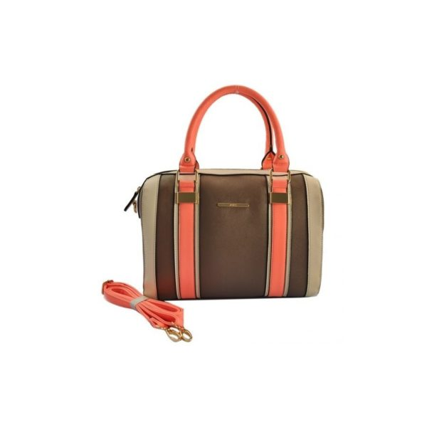 Modní dámská taška Šedá 1511