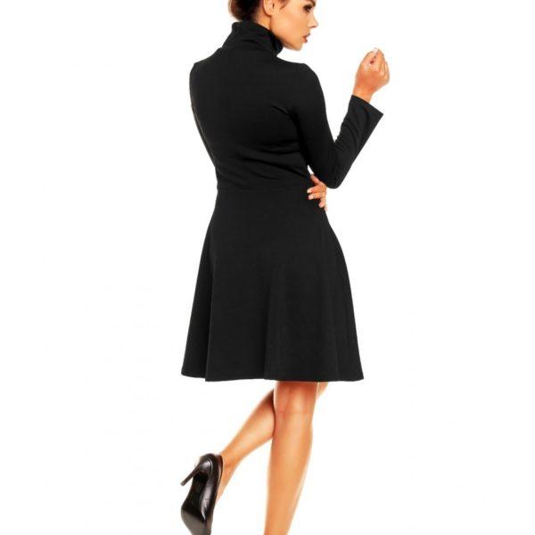 Modní dámské šaty černé