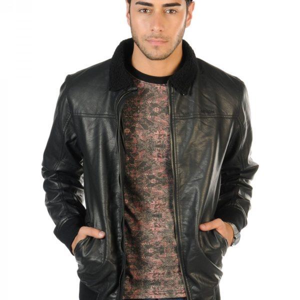 Pánská kožená bunda Nixon Rider