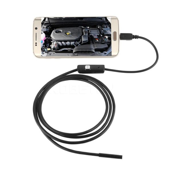 Voděodolný USB endoskop pro Android