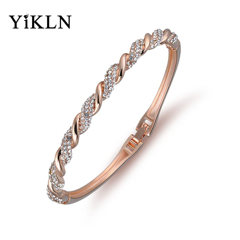 Dámský náramek YiKLN Pave SP5 rose gold