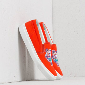 Kenzo K-Skate Tiger Sneakers Orange