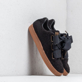 Puma Basket Heart Teddy Wmn's Black-Puma/ Black
