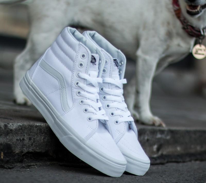 Vans Sk8-Hi True White