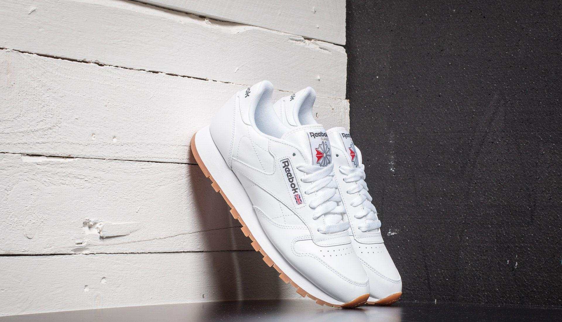 Reebok Classic Leather White/ Gum