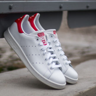 adidas Stan Smith Running White/ Running White/ Red