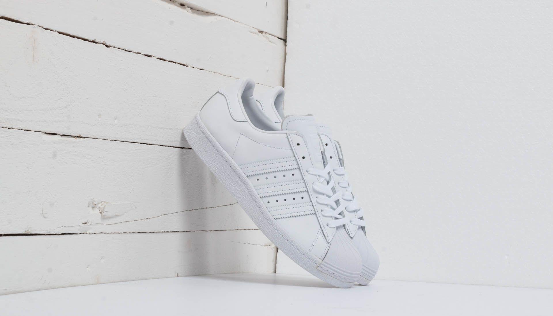 adidas Superstar 80s Ftw White/ Ftw White/ Core Black