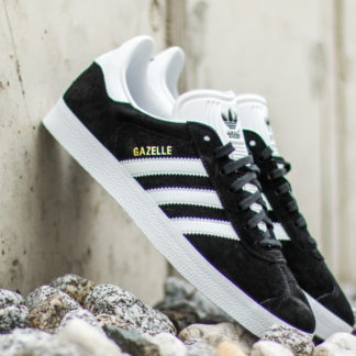 adidas Gazelle Core Black/ White/ Gold Metalic