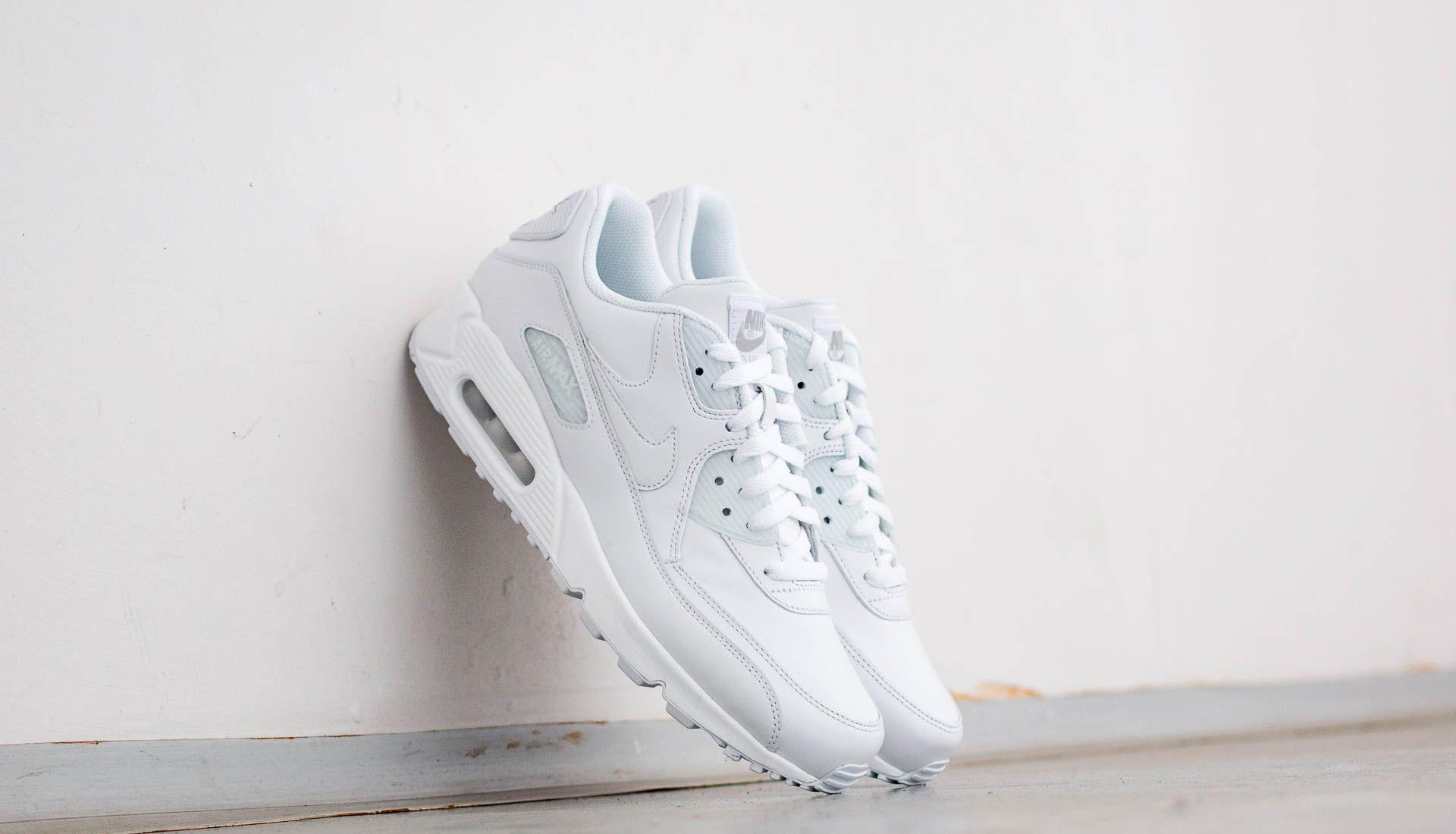 Nike Air Max 90 Leather True White/ True White