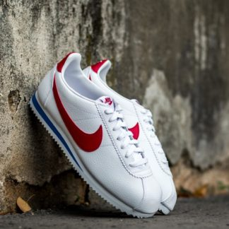 Nike Classic Cortez Leather White/ Varsity Red-Varsity Royal