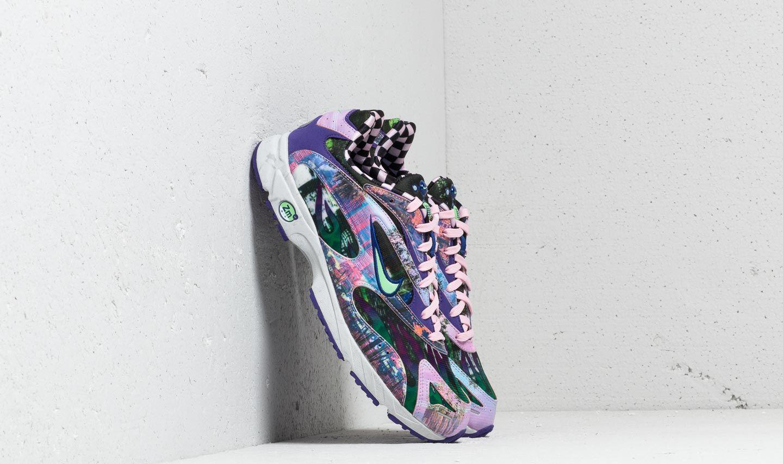 Nike Zoom Streak Spectrum Plus Premium Court Purple/ Lt Poison Green