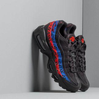Nike Wmns Air Max 95 Prm Black/ Black-Habanero Red-Racer Blue
