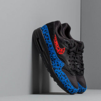 Nike W Air Max 1 Prm Black/ Habanero Red-Racer Blue