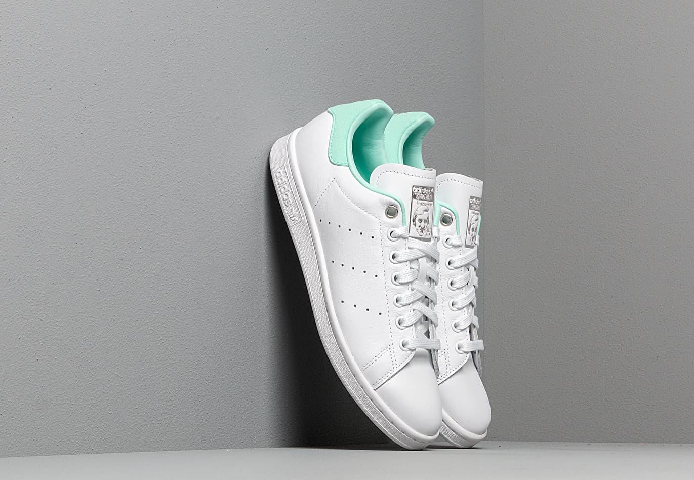adidas Stan Smith W Ftw White/ Silver Metalic/ Clear Mint