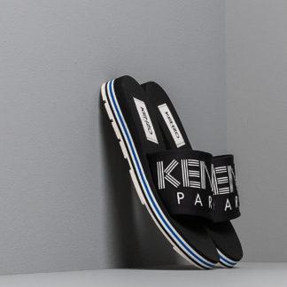 KENZO Papaya Flat Sporty Mules Black