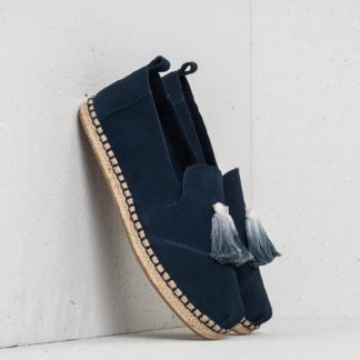 TOMS Wmn Deconstructed Alpargata Rope Navy Suede/ Tassel