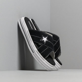 Converse One Star Sandal Black/ Egret/ White