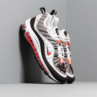 Nike W Air Max 98 White/ Solar Red-Dust-Reflect Silver