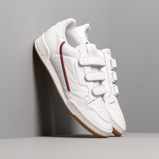 adidas Continental 80 Strap Ftw White/ Core Green/ Scarlet