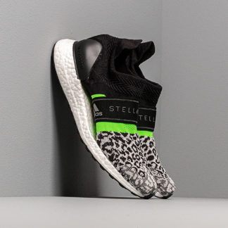 adidas x Stella McCartney UltraBOOST X 3.D. S. Black-White/ Core White/ Solar Green