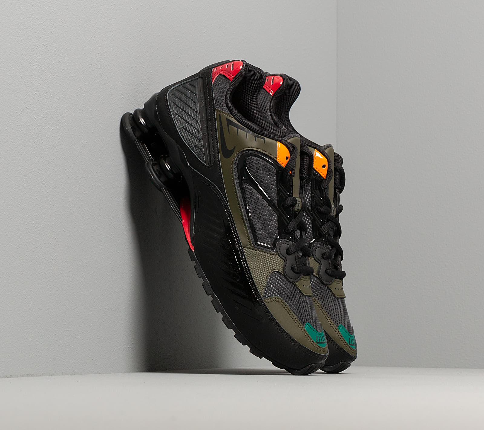 Nike W Shox Enigma Black/ Anthracite-Cargo Khaki-Gym Red