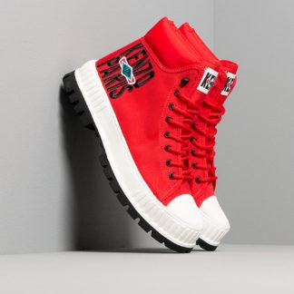 KENZO x Palladium High top Sneaker Medium Red