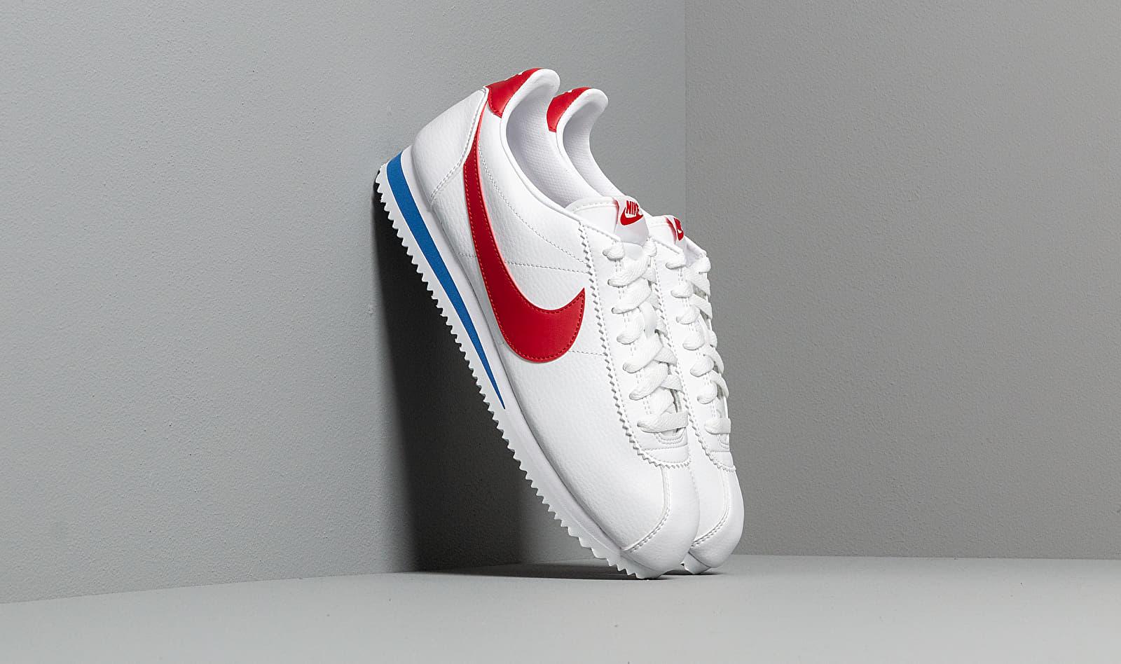 Nike Classic Cortez Leather White/ Varsity Red-Varsity Royal 749571-154