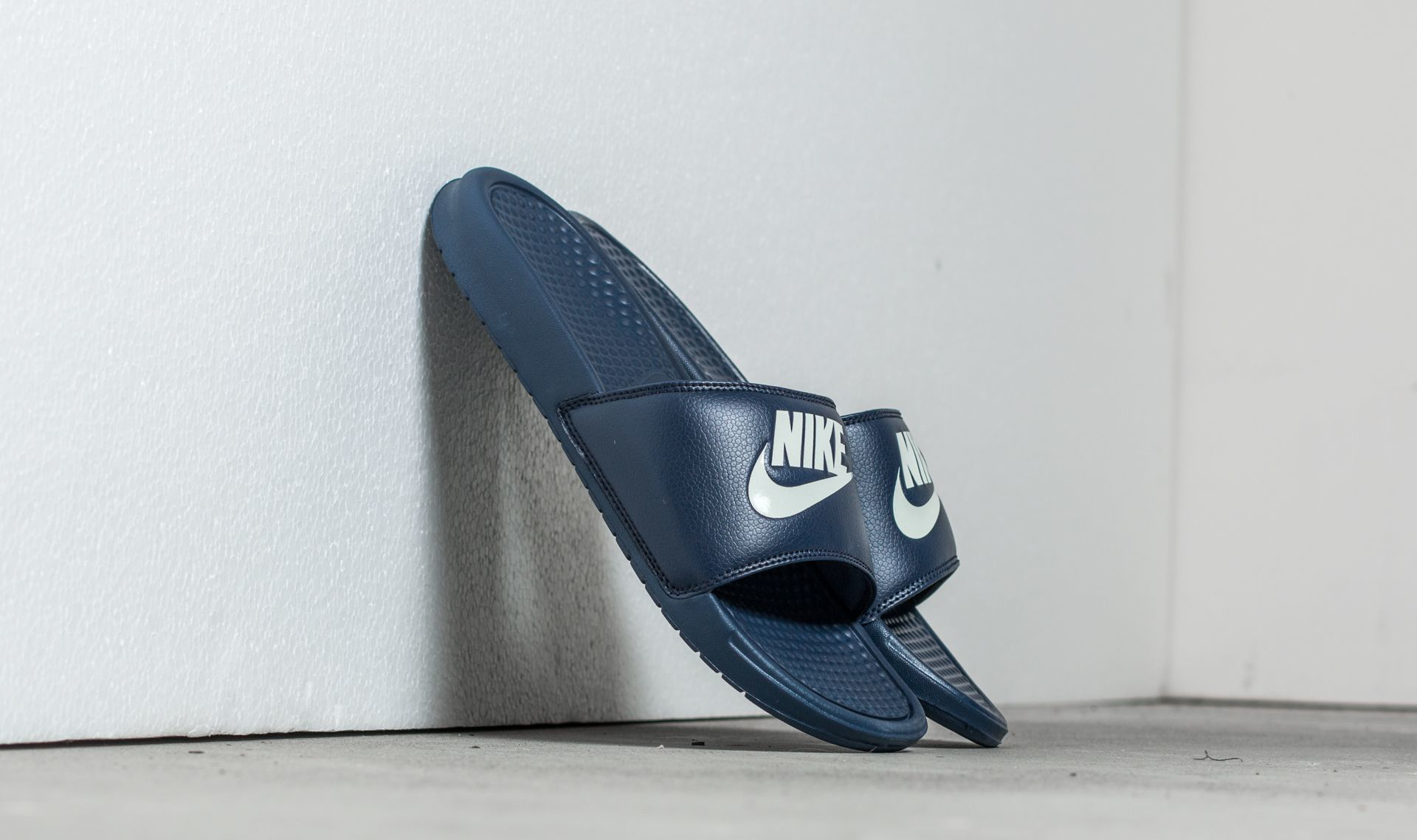 Nike Benassi Jdi Midnight Navy/ Windchill 343880-403