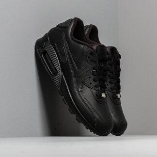 Nike Air Max 90 Leather Black/ Black 302519-001