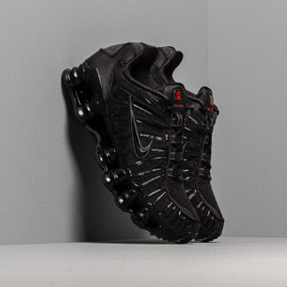 Nike Shox TL Black/ Black-Mtlc Hematite-Max Orange AV3595-002