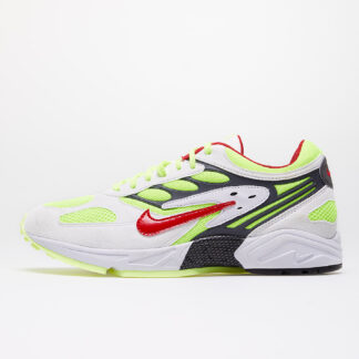 Nike Air Ghost Racer White/ Atom Red-Neon Yellow-Dark Grey AT5410-100