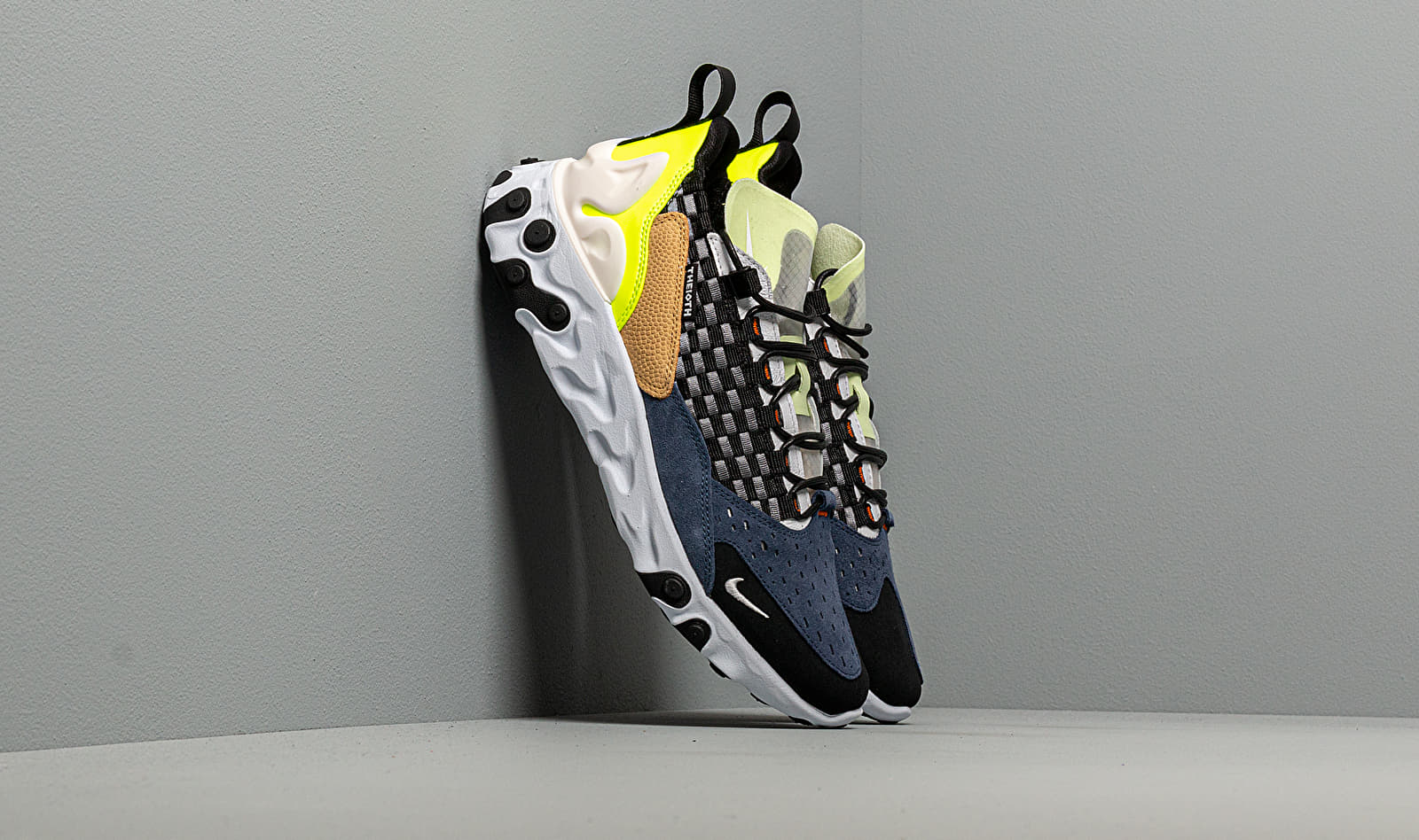 Nike React Sertu Black/ White-White-Volt AT5301-002