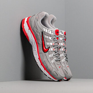 Nike P-6000 Flt Silver/ Flt Silver-University Red CD6404-001
