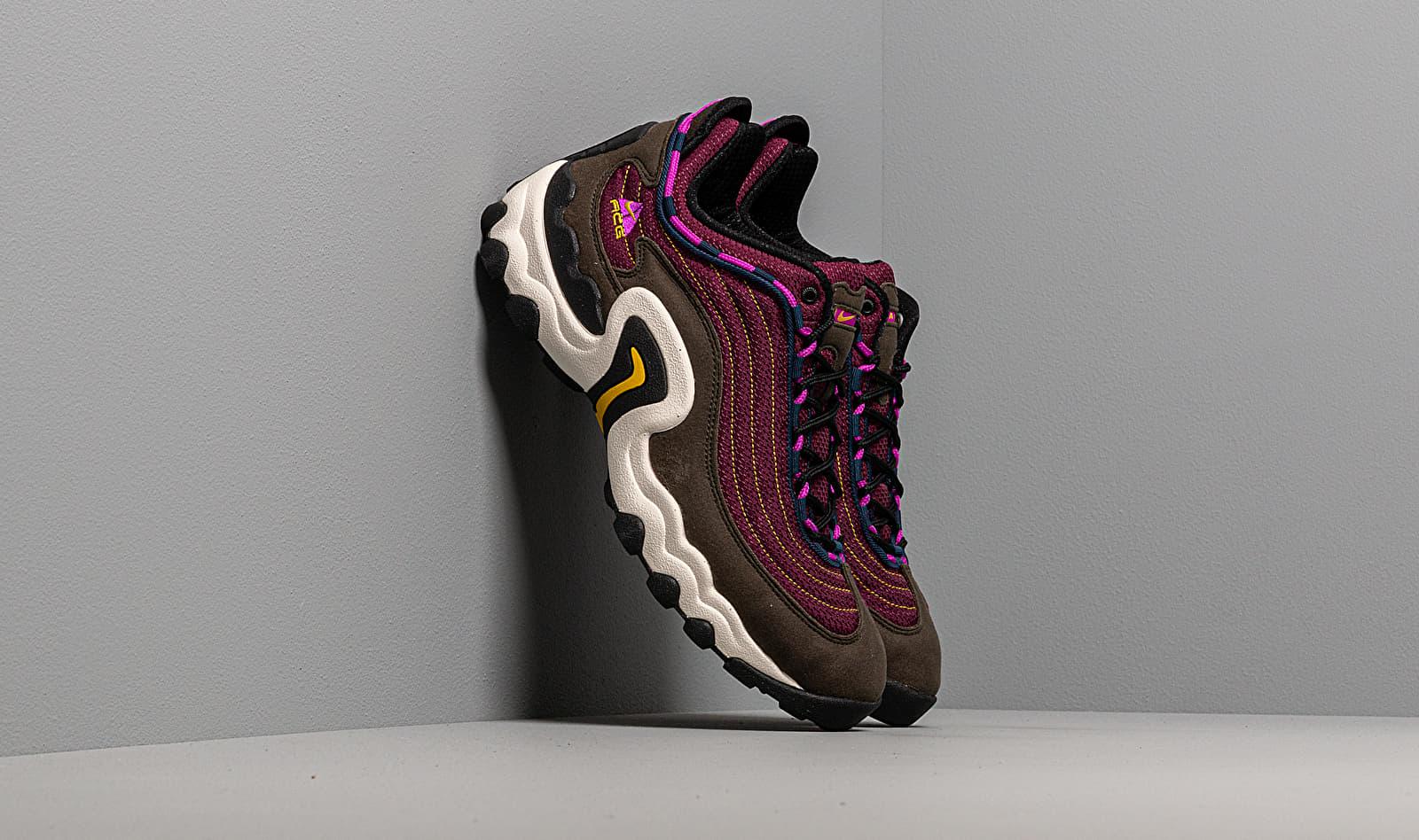 Nike Air Skarn Sequoia/ Vivid Purple-Bright Citron CD2189-300