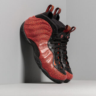 Nike Air Foamposite One Black/ Bright Crimson-Total Crimson 314996-014