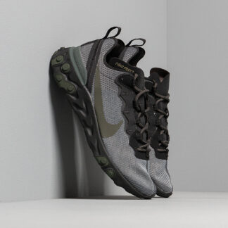 Nike React Element 55 Black/ Sequoia-Medium Olive BQ6166-010