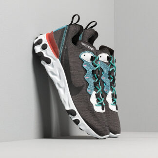 Nike React Element 55 Se Anthracite/ Blue Fury-Pure Platinum CD2153-001