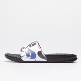Nike Benassi Jdi Print Black/ Black-White-Multi-Color 631261-035