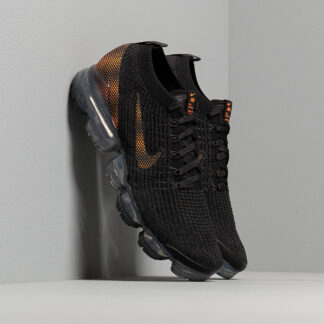 Nike Air Vapormax Flyknit 3 Black/ Total Orange-Dk Smoke Grey CU1926-001