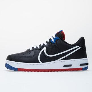 Nike Air Force 1 React Black/ White-Gym Red-Gym Blue CT1020-001