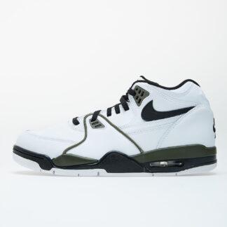 Nike Air Flight 89 White/ Black-Medium Olive CJ5390-101