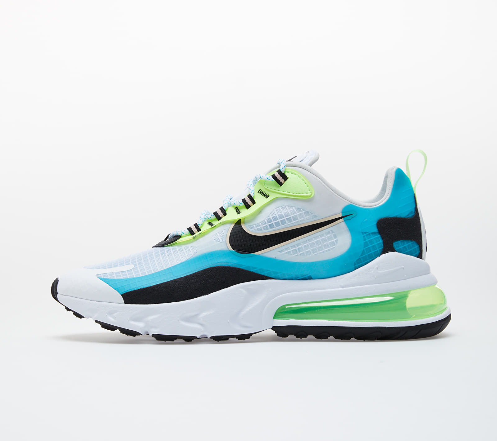 Nike Air Max 270 React SE Oracle Aqua/ Black-Ghost Green CT1265-300