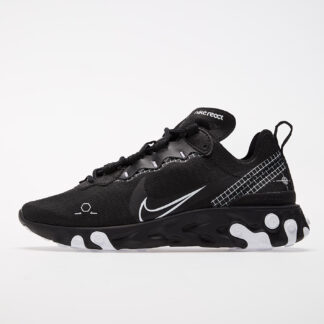 Nike React Element 55 Black/ White CU3009-001