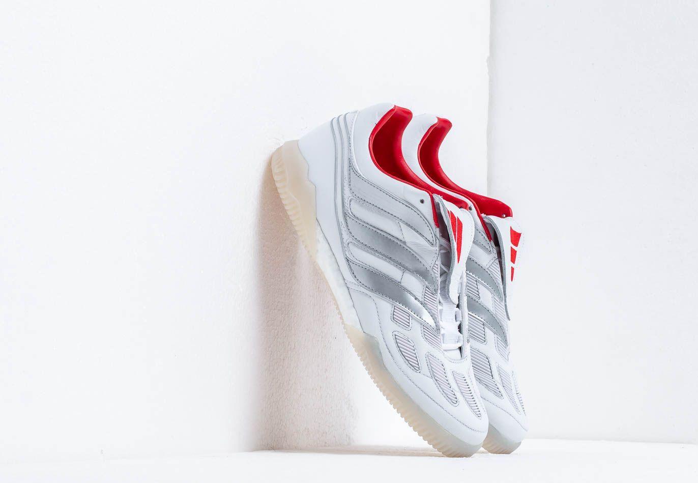 adidas Predator Precision TR Ftw White/ Silver Metallic/ Predator Red F97224