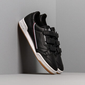 adidas Continental 80 Strap Core Black/ Maroon/ Glow Blue EE5360