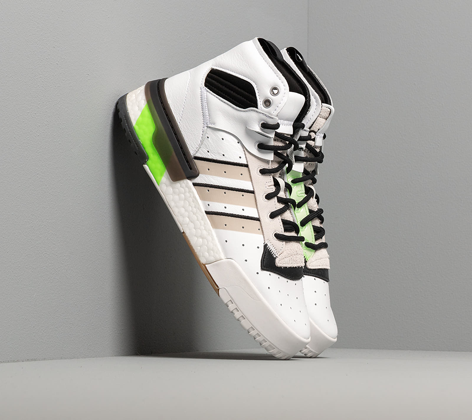 adidas Rivalry RM Ftw White/ Crystal White/ Semi Green EE4985