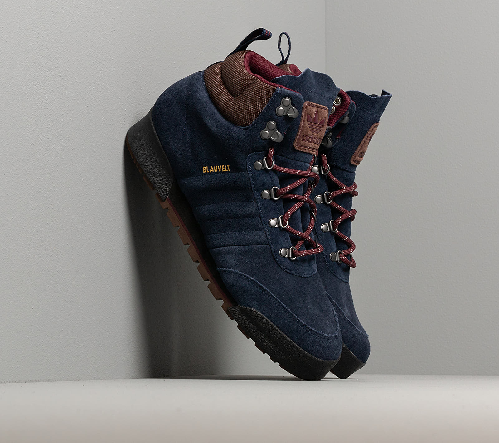adidas Jake Boot 2.0 Collegiate Navy/ Maroon/ Brown EE6207