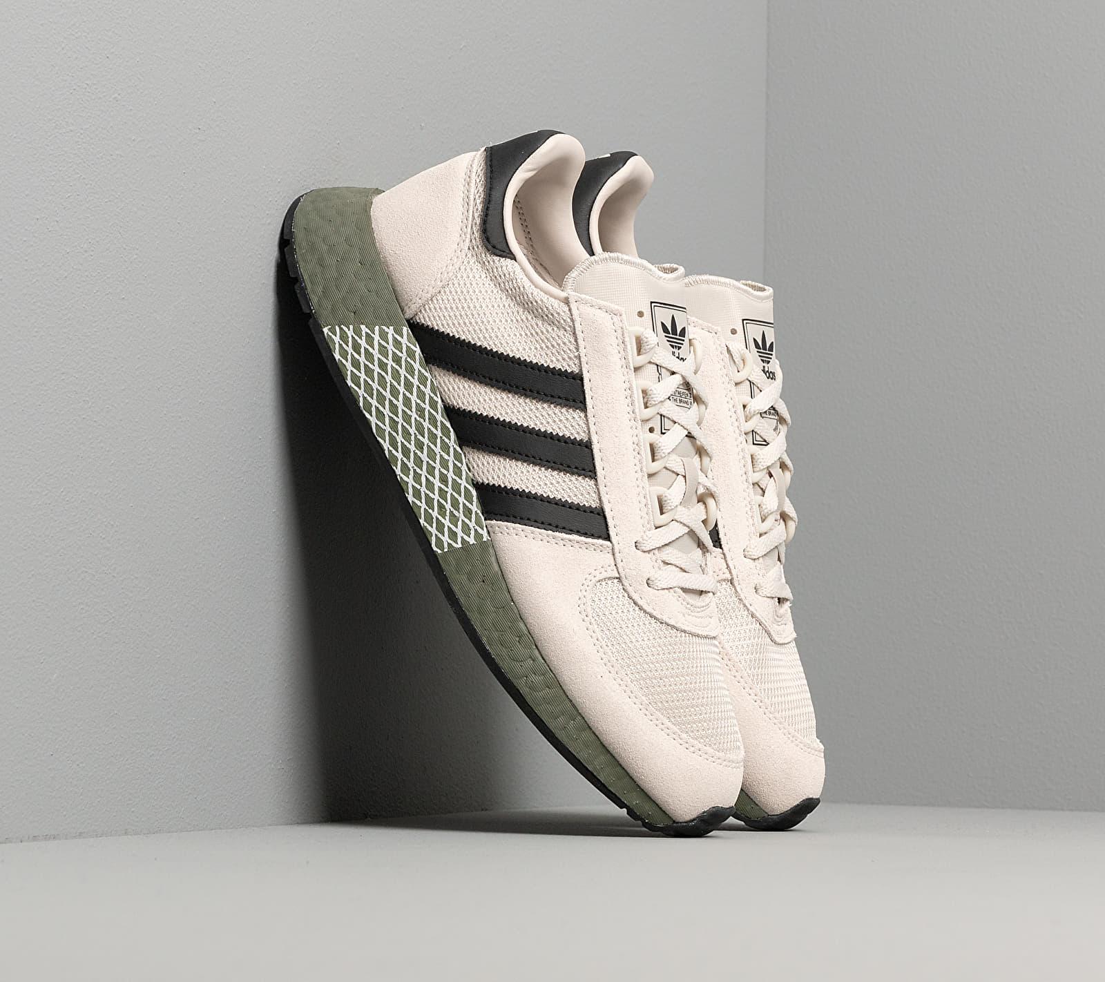 adidas Marathon Tech Raw White/ Core Black/ Raw Khaki EE4922
